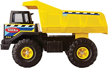 Tonka Retro Classic Steel Mighty Dump Truck (the color of the stickering may vary)
