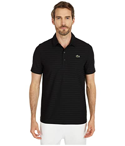 Lacoste Short Sleeve Jacquard Polo
