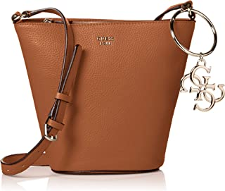 GUESS womens Flora Vg Mini Crossbody Bucket