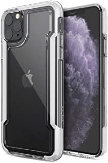 X-Doria Defense Clear,  iPhone 11 Pro Max Case - Military Grade Drop Protection,  Shock Protection,  Clear Protective Case for Apple iPhone 11 Pro Max,  (White)