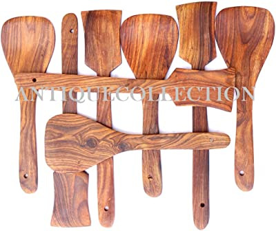 Wooden Utensil Set, 8 Piece