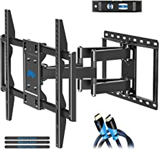 Mounting Dream TV Mount for Most 42-70 inch Flat Screen TVs Up to 100 lbs, Full Motion TV Wall Mount with Swivel Articulat...