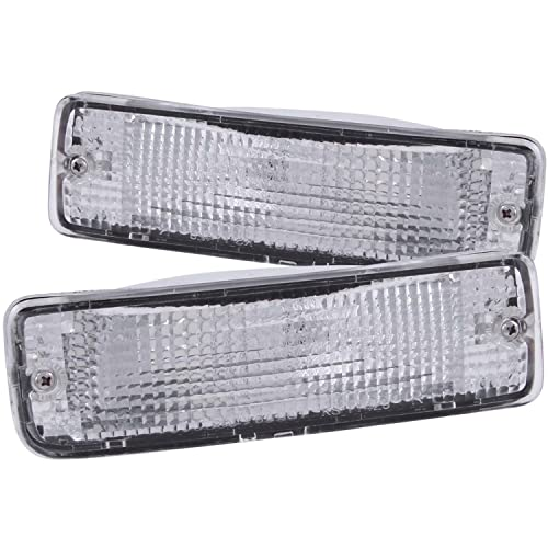 Anzo USA 511019 Toyota Chrome Clear w/Amber Reflectors Bumper Light Assembly - (Sold