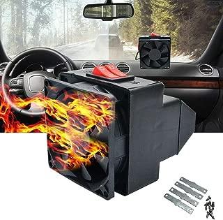 12 V 150 W Portable Auto Chauffage en c/éramique 30 Secondes Rapide Chauffage Rapidement Savoureuse Defogger LayOPO Neuf Multifonctionnel de Pare-Brise de Voiture Air Fan