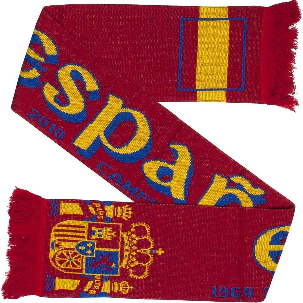 Max 88% OFF Spain Espana Soccer Knit Scarf Tulsa Mall