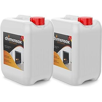 2 x 5L Bioetanol 96% para chimeneas de Chimeneox