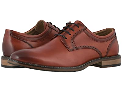 Stacy Adams Faulkner Plain Toe Oxford (Cranberry) Men