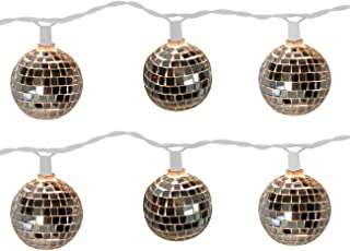 Brite Star 10 Count Disco Ball Light Set
