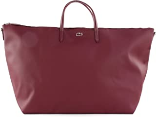 LACOSTE L.12.12 Concept Travel Shopping Bag Tawny Port