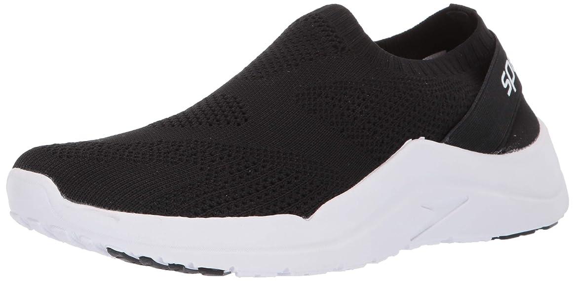 Speedo Women's Surf Knit Ultra Water Shoe, Black/White 9H Regular US
