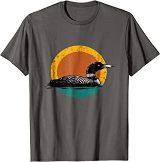 Faded Loon T-Shirt-Earthy Design with Retro Colors