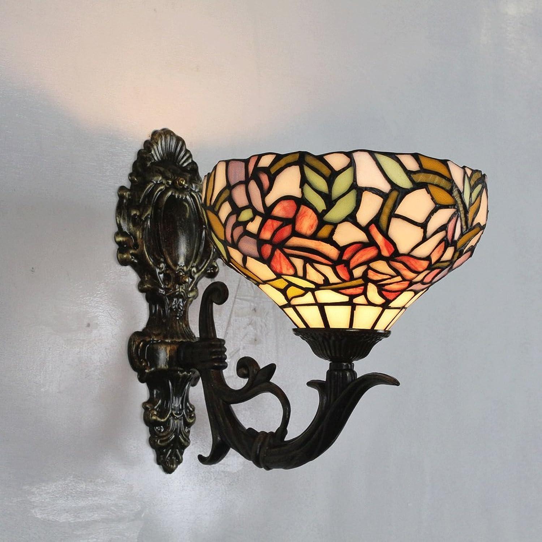todos los bienes son especiales Gweat Gweat Gweat Lámpara de parojo Pastoral de 8 Pulgadas Lámpara de cabecera Lámpara de cabecera Decoración de jardín Lámpara de Parojo de Vidrio Colorado  marcas en línea venta barata