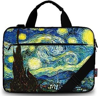 Canvas Laptop Shoulder Messenger Bags Briefcase Tablet Handle Sleeve Cover Holder