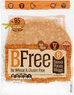 BFree Gluten Free Wheat Free Wrap Tortillas Sweet Potato Vegan Dairy Free (Pack of 2)