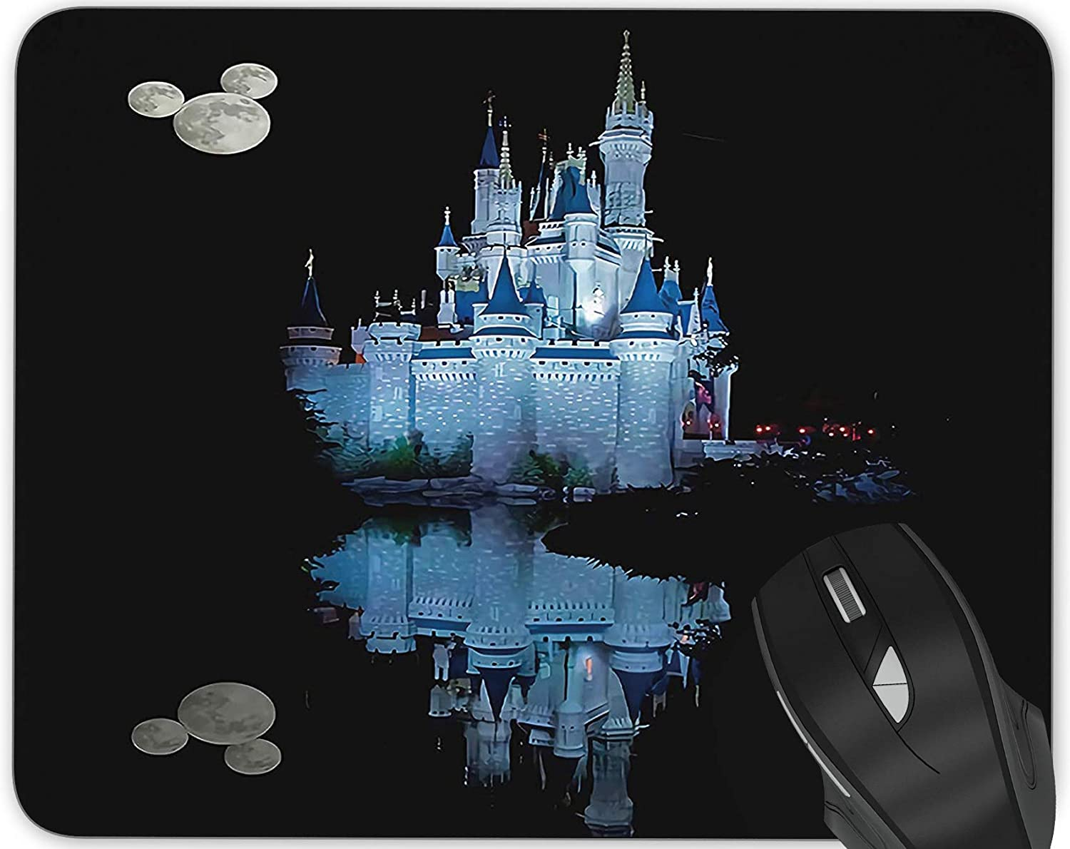 Disney Castle Gmaing Mouse Rectangle Challenge the lowest price of Japan ☆ Series Anti-Slip Online limited product Pad