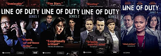 line of duty dvd 1 4