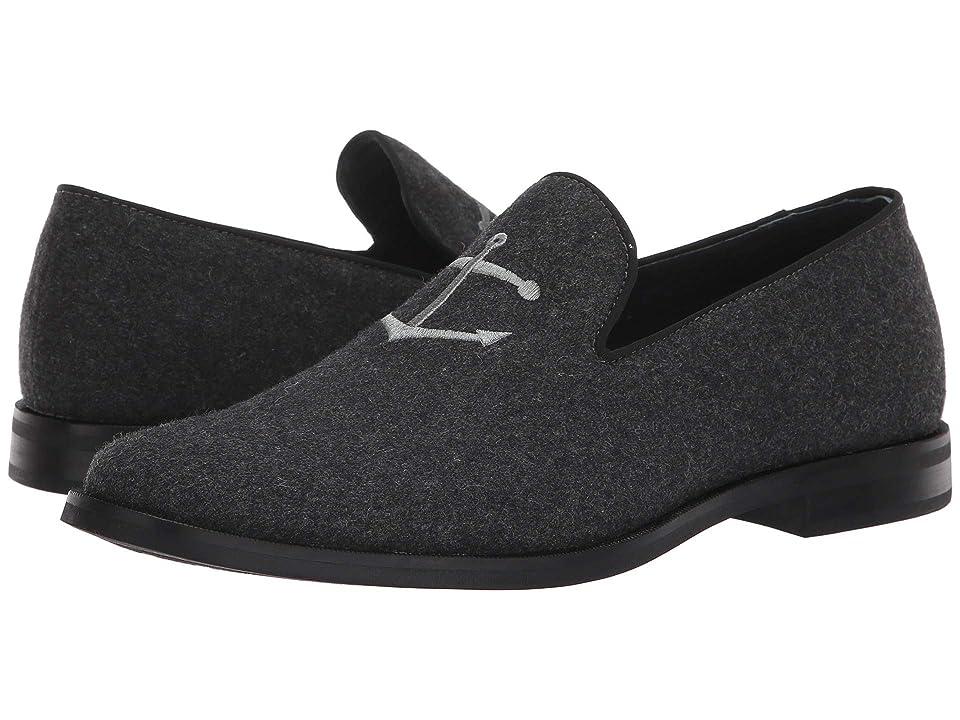Sperry Overlook Textile Smoking Slipper (Grey Wool) Men