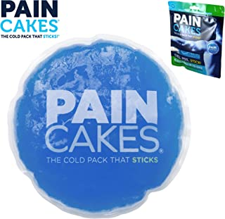 PAINCAKES The Cold Pack That Sticks & Stays in Place - Reusable Cold Therapy Ice Pack Conforms to Body, 1 Large, 5