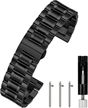 Berfine Quick Release Watch Strap, 20mm 22mm Premium Solid Stainless Steel Watch Band Replacement