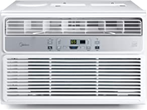 MIDEA EasyCool Window Air Conditioner - Cooling, Dehumidifier, Fan with remote control - 12,000 BTU, Rooms up to 550 Sq. F...