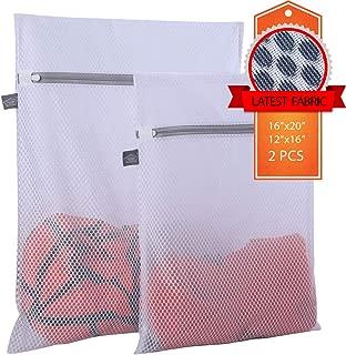 Kimmama Delicates Laundry Bag - 2 Pack Honeycomb Mesh Lingerie Wash Bag