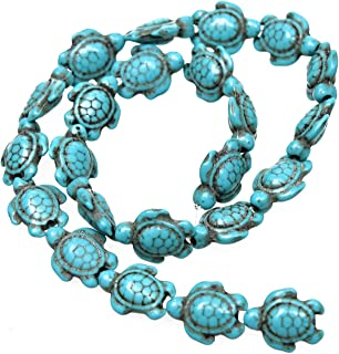Best turquoise turtle beads Reviews
