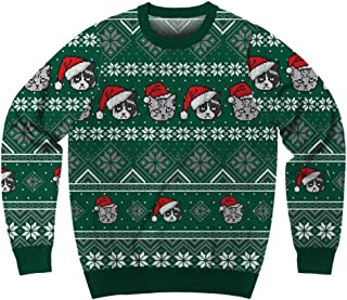 Men's Santa Pets Ugly Christmas Sweater