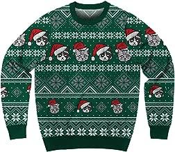 Mad Engine Men's Santa Pets Ugly Christmas Sweater