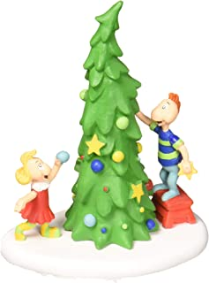 Department 56 Grinch Ville Christmas Tree Figurine Village Accessory, Multicolor