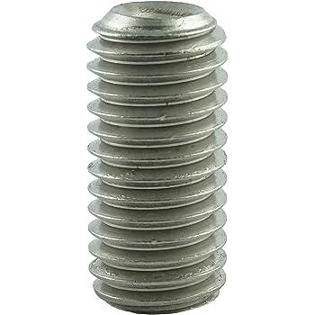 rostfrei Gewindeschrauben Eisenwaren2000 5 St/ück - Madenschrauben DIN 914 Edelstahl A2 V2A ISO 4027 M5 x 10 mm Gewindestift mit Innensechskant und Spitze