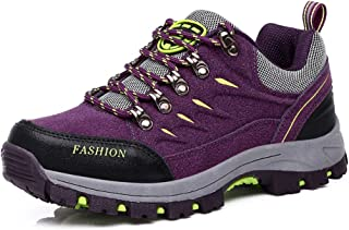 5cf75bf7a Easondea Zapatillas de Trekking para Hombres Mujeres Zapatillas de Senderismo  Unisex Botas de Montaña Antideslizantes AL