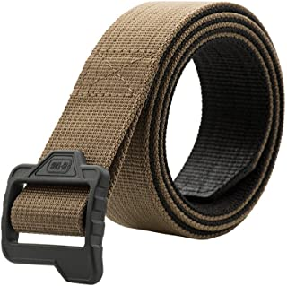 Tactical Belt Double Duty Mens Military Police Nylon Web Plastic Buckle