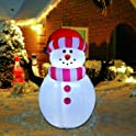 Goosh 5 FT Height Christmas Inflatables Outdoor Snowman