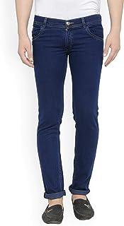 M.Weft Slim Fit Cotton Blended Jeasn for Men