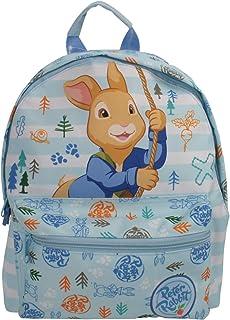 Peter Rabbit carácter Infantil Azul Mochila Roxy
