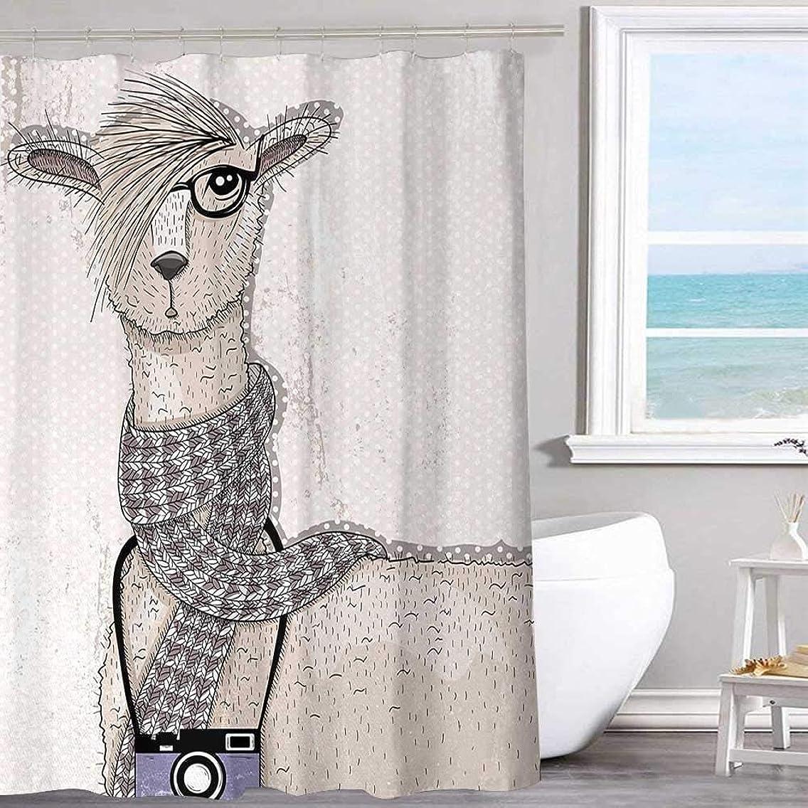 MKOK Waterproof Polyester Shower Curtain 60