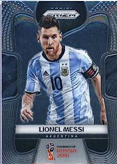 2018 Panini Prizm World Cup Soccer #1 Lionel Messi Argentina Futbol Card