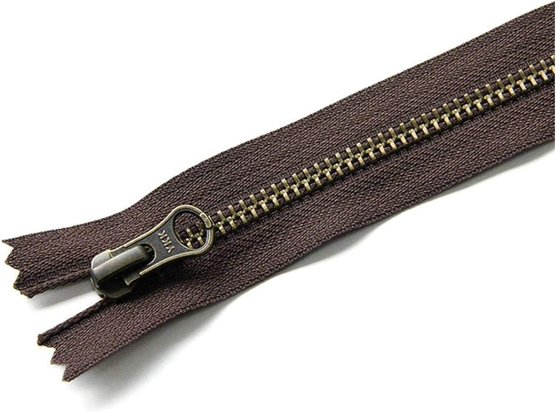 Lieber Lighting Decorative Zipper 1 pcs Metal Bronze Zipper Clos