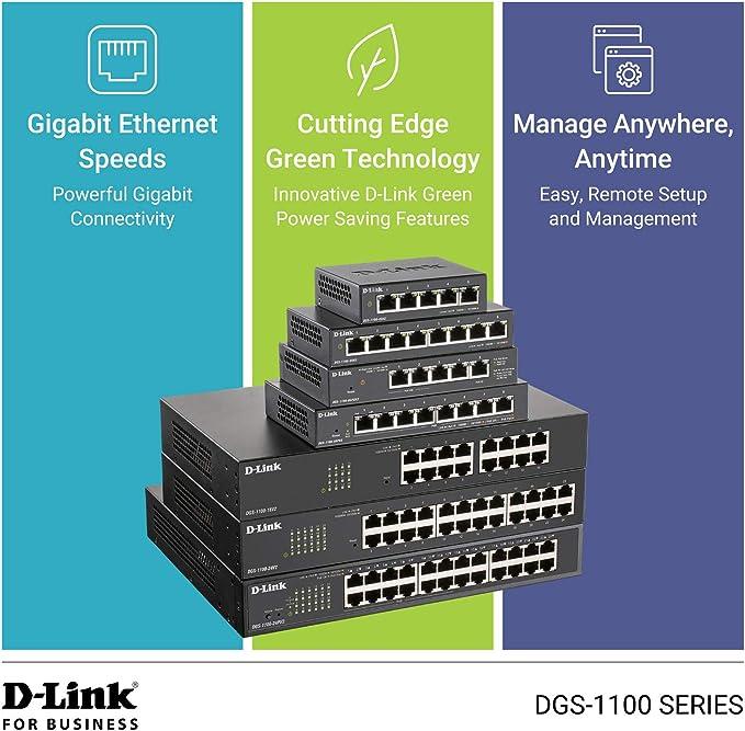 D Link Dgs 1100 05 5 Port Gigabit Smart Switch Computer Zubehör