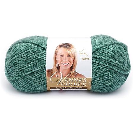 Lion Brand Yarn 860-177 Vanna's Choice Yarn, Sage