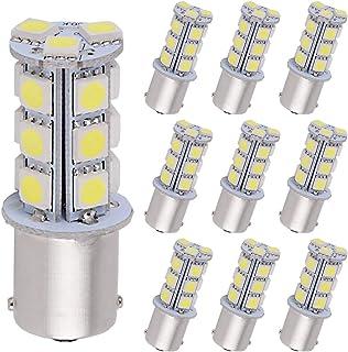 YITAMOTOR 10x 1156 BA15S 7506 1003 1141 RV Camper LED Bulbs For Car Interior RV Camper..