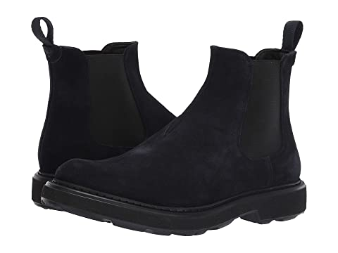 Emporio Armani Suede Pull-On Boot