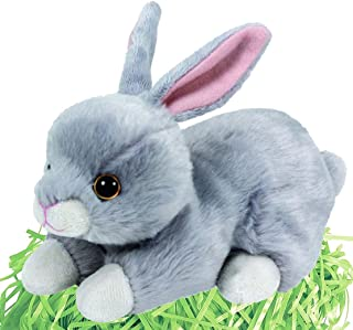 Ty Beanie Babies Easter Bunny and Gift Bag Set (Nibbler)