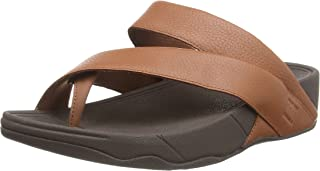 Fitflop Men's Sling Toe Post-Leather Updated Flip-Flop