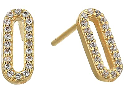 gorjana Parker Shimmer Studs Earrings (Gold) Earring