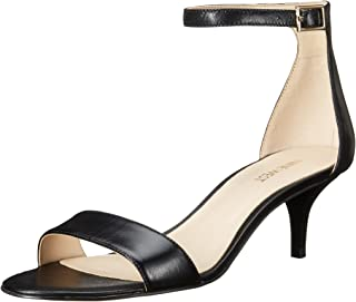 Nine West Women's Leisa Leather Heeled Dress Sandal