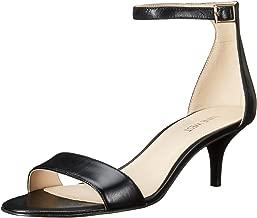 Nine West Women's Leisa Leather Heeled Dress Sandal