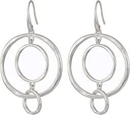 Stick Orbit Hoop Earrings