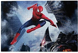 Spiderman Jigsaw Puzzles for Teens Adults 500 Piece Puzzle Games for Adults 500 Pieces 20.5 x 15