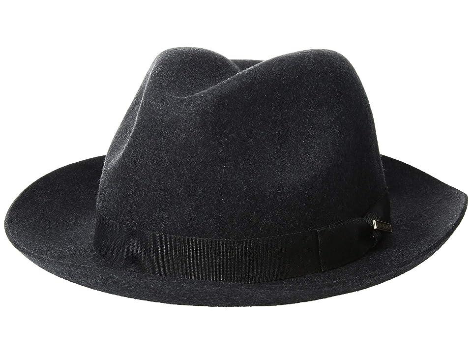 Pendleton Classic Fedora (Charcoal Mix) Fedora Hats